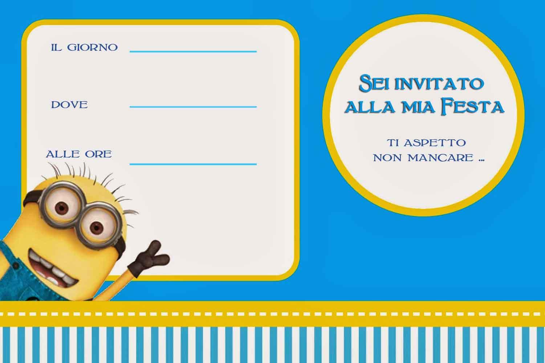 Ben noto Inviti di compleanno per bambini da stampare GRATIS CW43