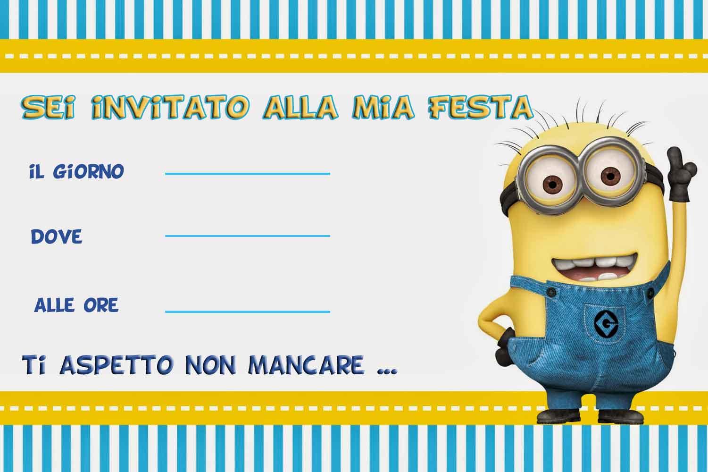 Amato Biglietti Auguri Compleanno Minions | Monroeknows WJ27