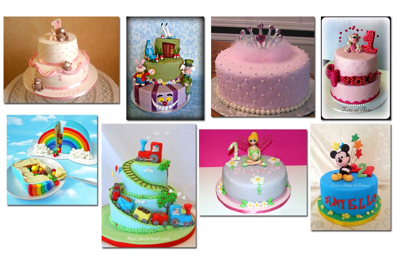 Torte primo compleanno – Ricette e decorazioni per bambini