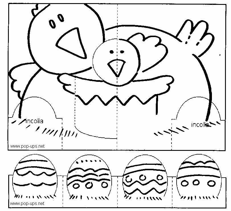 Ben noto Lavoretti di Pasqua per bambini fai da te OU51