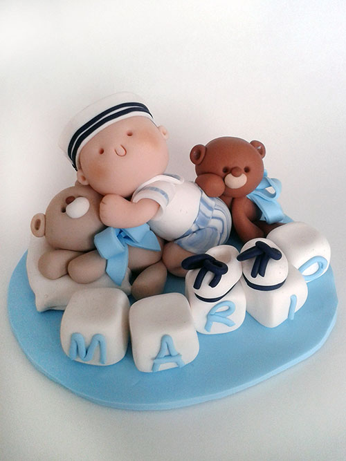 Famoso Cake Topper Battesimo - personalizza la torta per il tuo bimbo WF29