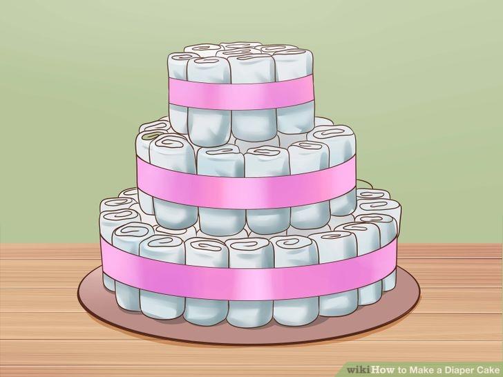 Préférence Torta di Pannolini - come farla in meno di 20 minuti OS03