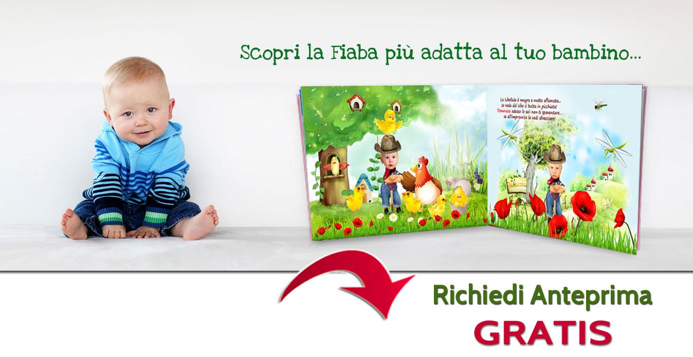 Fiabe personalizzate per bambini for Libri regalo
