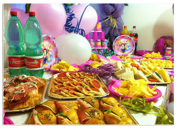 Decorazioni Buffet Compleanno Bambini : Feste di compleanno per bambini e bambine a bologna