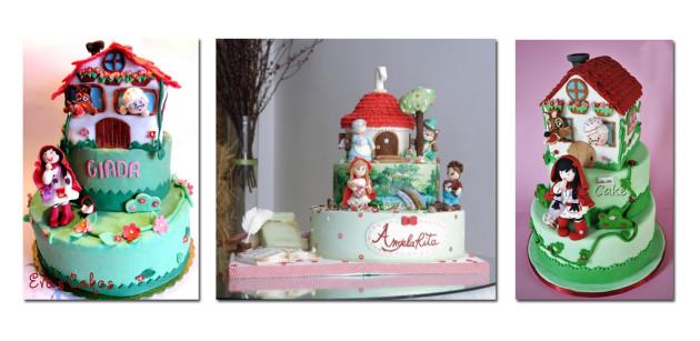 torta-cappuccetto-rosso