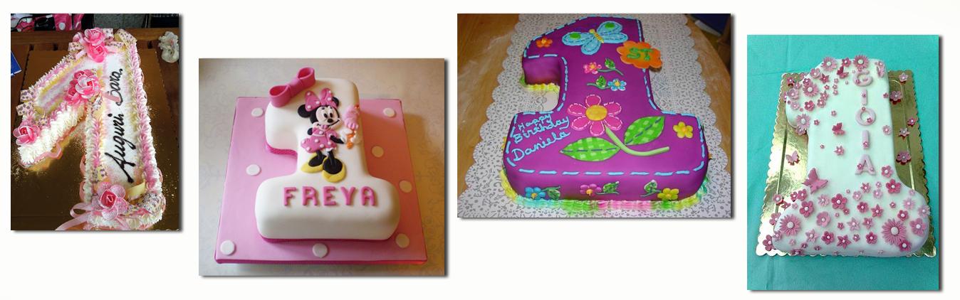 Le migliori torte per il primo compleanno di un bambino for Decorazioni compleanno bimba