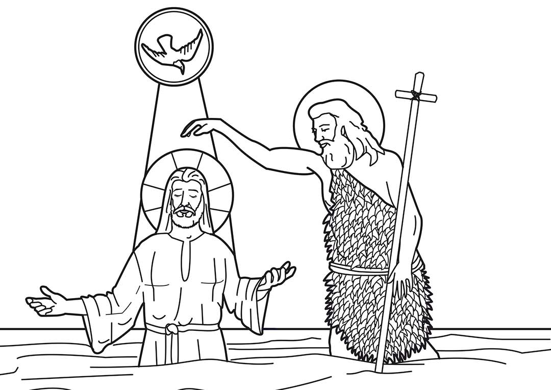 Quanti e quali sono i simboli del battesimo - Immagini di colorare le pagine del libro da colorare ...