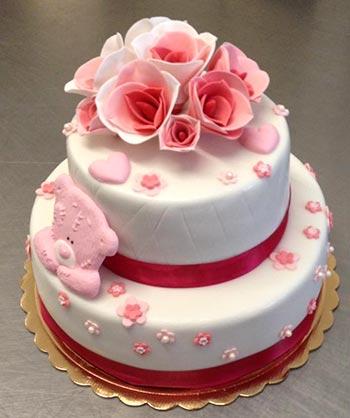 torte,battesimo,bimba,rosa